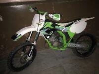 Kx 125 2002 (not ktm rm yz cr)(swap on road bike)