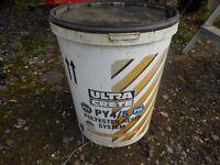 25 kg ultra crete pot hole repair 2 pack resin. excellent for pot holes. sets in 1 hour