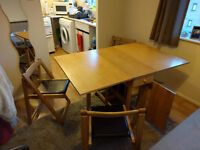 butterfly dining table on a good condition