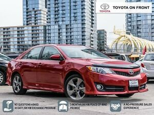 2014 Toyota Camry SE/ LEATHER/ ROOF/ NAVIGATION/ TOYOTA CERTIFIE