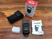 Canon Speedlite 430EX II Shoe Mount Flash for sale