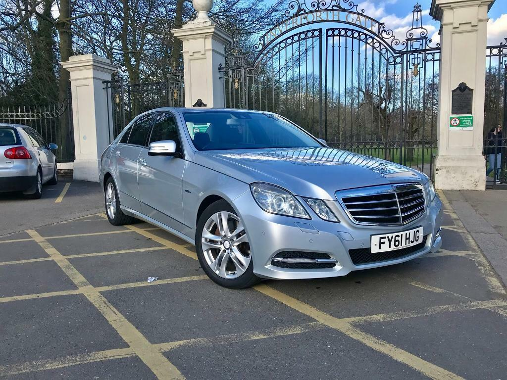 Mercedes Benz Vehicle Service History >> Mercedes Benz E250 Cdi E Class Avantgarde Full Service History In