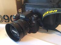 Nikon d90 with nikkor 35mm 1.8f