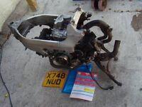 HONDA VFR 800 Fi ENGINE and FRAME V5 Good runner £200 Tel 07870 516938 Anglesey