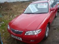 Mazda 626 GXI SE D,1998 cc Turbo Diesel Estate,clean tidy car,runs and drives well,no advisories