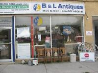 B & L Antiques - We Buy Antiques, Collectables, Vintage Items