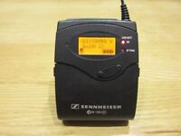 Sennheiser SK100 G3 Bodypack Wireless Microphone Transmitter EW100 606-648MHz