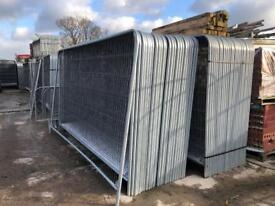 ❄️ 50 X New Temporary Heras Fencing Panels