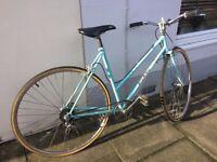 Falcon Ladies Bike Vintage Bicycle 21'' Similar To Raleigh Retro Restored