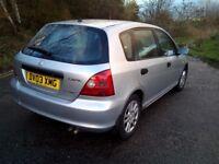 2003 honda se ctdi 1,7 diesel 5 door reliable car no f..king offer