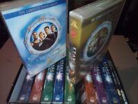 Stargate SG-1 series 1-10 boxset and films