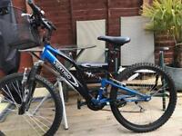 Unisex dual suspension bike