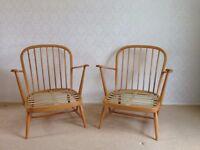 Ercol 1960's 335 easy chair x 2 - £190 each