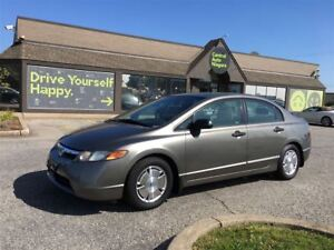2008 Honda Civic DX-G / ONE OWNER / ACCIDENT FREE