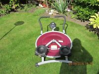 exersize machine very good condition working order.open to offers.