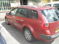 Renault Megane for sale for spares or repair