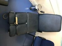 Reclining Electric Therapy Chair. In excellent working condition