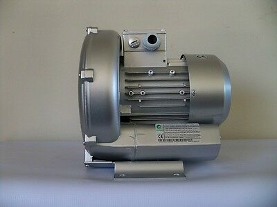 Regenerative Blower 0.67hp 57cfm 64h2o Press. 220480v3ph Side Channel Blower