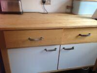 Ikea free standing kitchen units