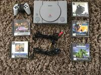 Original PlayStation Console and Games