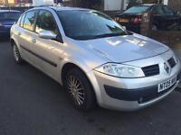 2005 1.4 RENAULT MEGANE EXPRESSION WITH MOT AND TAX READY TO GO