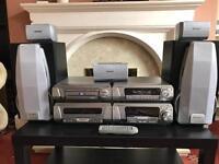 Technics HIFI Surround System 5 DVD Changer