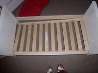 Mamas and Papas toddler bed ( needs repairing) FREE