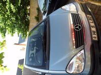 Mercedes Benz A Class car with really low mileage and in good condition
