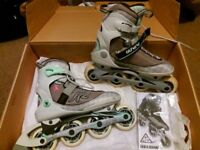 Almost new rollerblades £50
