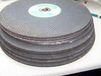 8 in all. 12inch Stone Grinding discs for Petrol disc cutter brand new