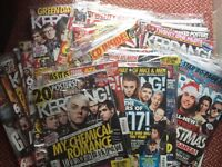 Kerrang magazines x 35