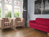 Pair 2 x SOFAWORKS Sofology Armchairs Tub Chairs IMMACULATE