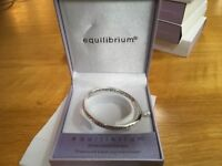 Brand new and boxed silver plated bangles for sale