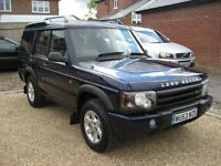 Land Rover Discovery TD5. 2003 face lift model. 7 seater.