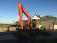 Hitachi zaxis 130lcn digger excavator JCB tractor