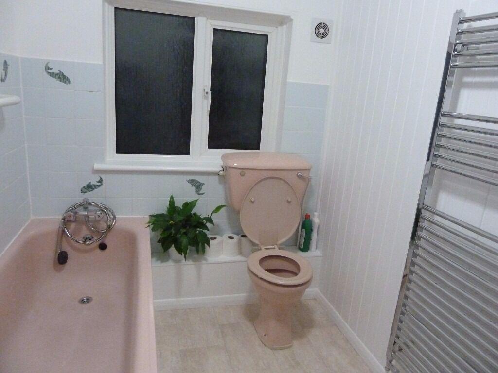 Pink bathroom suite - Retro Dusty Pink Bathroom Suite