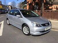 HONDA CIVIC 1.6 SE AUTOMATIC 5 DOOR 05 REG 1 OWNER WITH HISTORY