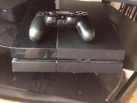 PS4 console complete working with 1 controller.