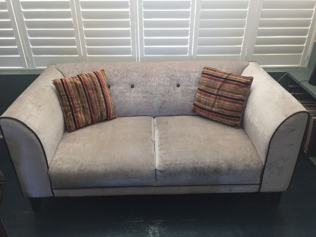 Awesome Special Price For Quick Sale Gorgeous Art Deco Silver Grey Sofa In Brighton East Sussex Gumtree Home Interior And Landscaping Ponolsignezvosmurscom