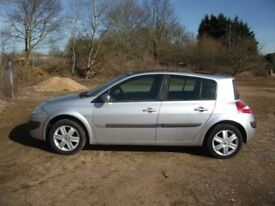 ONLY 79,782 MILES 2006 MEGANE 1.6 EXPRESSION MOT 19th FEBRUARY 2019
