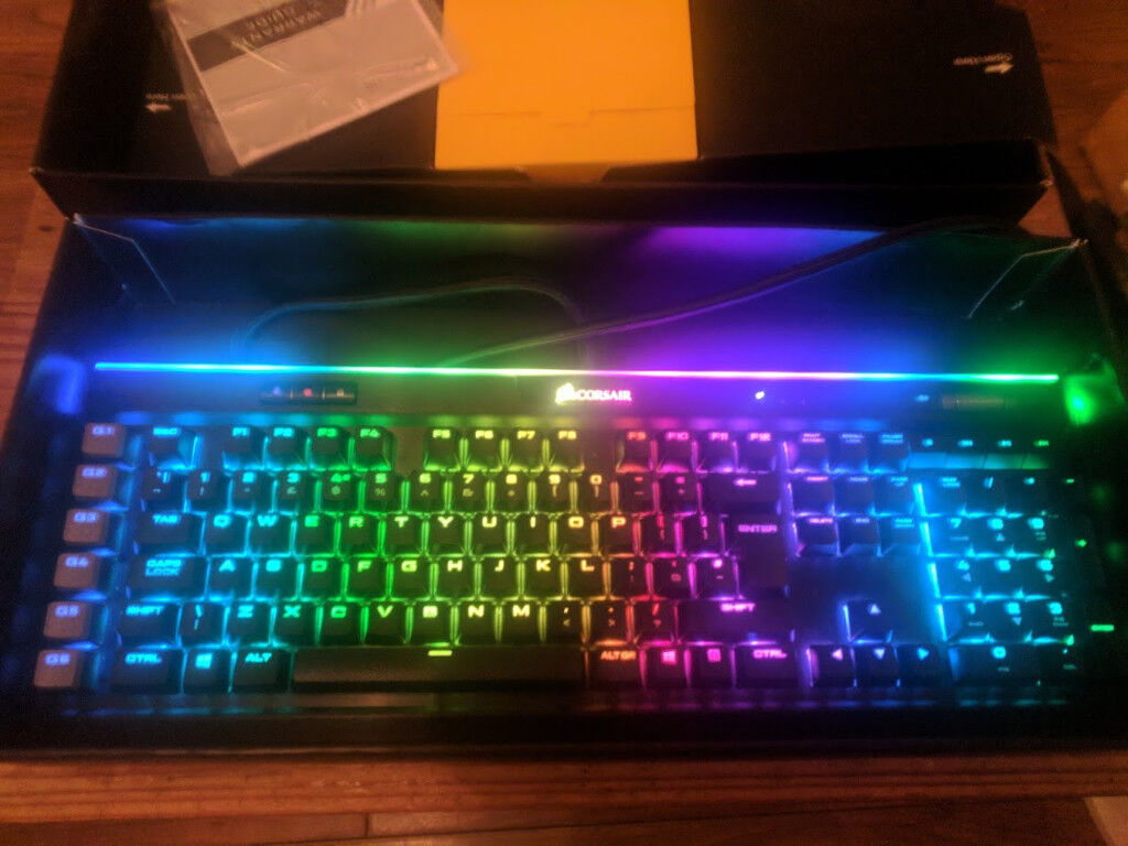 Corsair K95 Platinum RGB Rapid Fire Cherry MX Speed Backlit Mechanical Gaming Keyboard