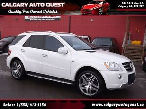 2010 Mercedes-Benz M-Class ML63 AMG 4MATIC AWD/NAVI/B.CAM/LEATHE