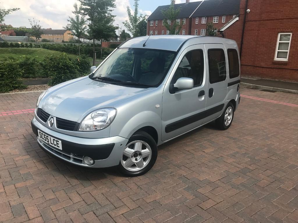 2006/55 RENAULT KANGOO 1.2 MPV YEARS MOT DRIVES VERY WELL 2 OWNERS | in  Mitcham, London | Gumtree