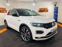 2019 VOLKSWAGEN T-ROC R-LINE 1.5 TSI EVO S-A ** ONLY 7,000 MILES ** FINANCE AVAILABLE