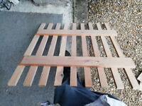 Wooden Gate - originally a stairgate but quite robust