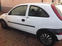 Damaged Vauxhall Corsa Suitable for parts