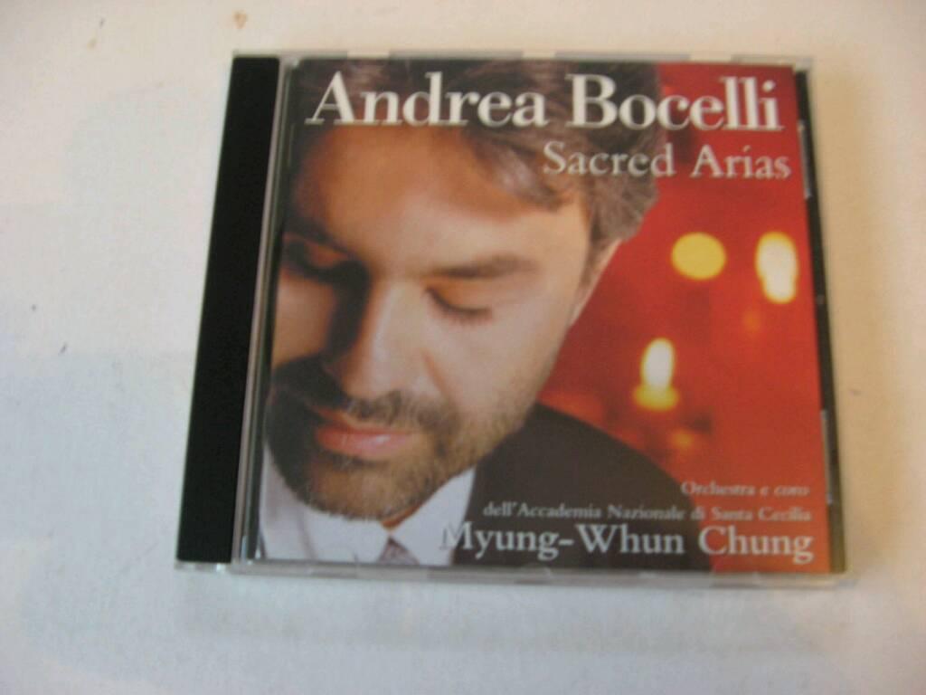 ANDREA BOCELLI *** SACRED ARIAS *** 16 TRACK CD .... £ 2 .....