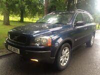 Volvo XC90 d5 awd **full mot** real nice 4x4 **7 seater**