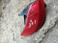 PEUGEOT 206 2002 NEAR SIDE REAR LIGHT