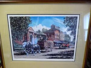 """Lance Russwurm """"The Mill and the Library"""" Signed and Numbered Stratford Kitchener Area image 2"""